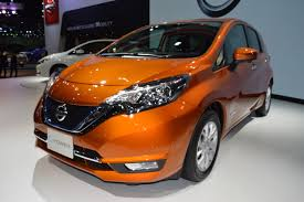 nissan note 2017 nissan note e power front three quarters left side at 2017 thai