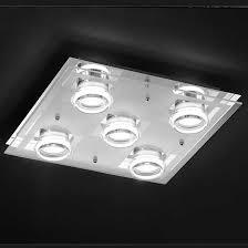 plafonnier de cuisine plafonnier cuisine led alaska 5 lumières millumine