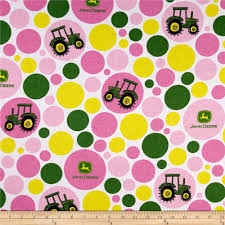 deere wrapping paper deere flannel polka dot tractor juvenile pink discount