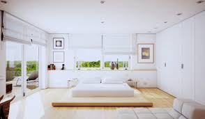bedroom fantastic bed on floor design using wooden platform bed