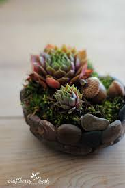 Faux Stone Planters by How To Make A Faux Stone Planter