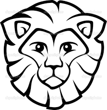 homely inpiration lion head coloring pages lion head colouring in