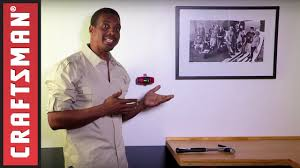 how to hang pictures on a wall using a laser level craftsman