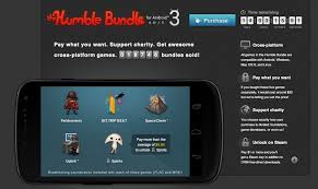 humble bundle for android 3 pay what you want for several awesome