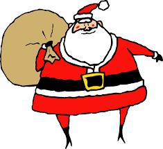 friendly santa clipart
