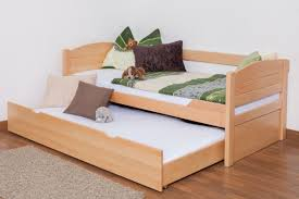 Beech Bed Frame Single Bed Storage Bed Easy Sleep K1 S Incl Trundle Bed