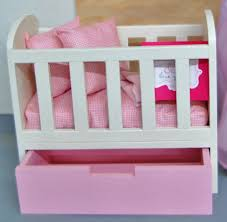 Free Wooden Cradle Plans by Ana White Olivia U0027s Doll Crib Diy Projects