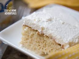 tres leche cake recipe my stay at home adventures