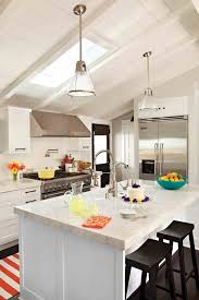 Lighting For Sloped Ceilings Marvelous Kitchen Lighting Vaulted Ceiling Ideas Contemporary