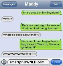 Funny Texts Memes - funny text proud girlfriend