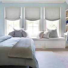Blue And Gray Bedroom Blue Bedroom With Gray Nightstand Transitional Bedroom