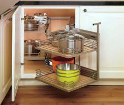 Corner Cabinet Storage Solutions Kitchen Nifty Kitchen Corner Cabinet Storage Ideas M26 On Home Interior