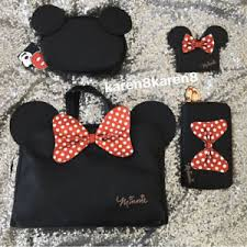 primark hair accessories disney minnie mouse make up toiletry bag purse credit card holder