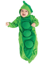 newborn costumes halloween newborn baby pea in the pod costume