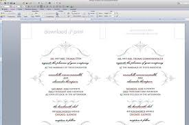 invitation inserts templates songwol c21213403f96