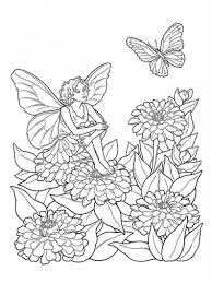 free coloring pages fairies elves coloring pages ideas