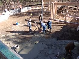 trevi pouring concrete