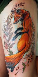45 fox tattoos eye catching unique designs