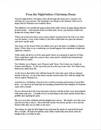 twas the before poem cheminee website