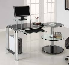 Work Desks For Small Spaces Desk Glass Computer Desks For Small Spaces Glass Work Desk