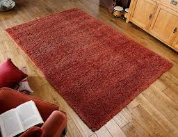 Modern Rugs Direct by Harmony Orange Shaggy Rug Ow Buy Rugs Online At Rugs Direct 2u