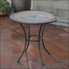 outdoors wonderful mosaic dining tables luxury palazetto x inch