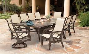 Costco Outdoor Furniture With Fire Pit by Fire Pit Dining Table Sets Costco Home Fireplaces Firepits