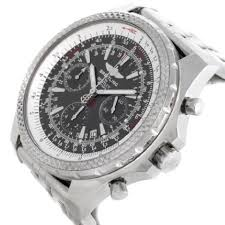 breitling bentley back breitling bentley motors chronograph grey dial mens watch a25362