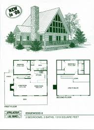 Dogtrot Floor Plans Cabin Floor Plans With Loft For Decorating Weekend Plan 2 Decorca