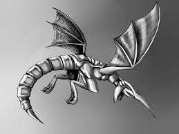 panzer dragoon legacy the blue dragon black and white
