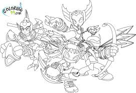 skylanders coloring pages minister coloring