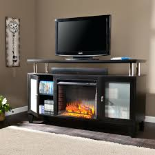tv stand electric fireplace with tv stand 85 impressive