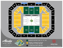 Alaska Airlines Seat Map by Alaska Airlines Center