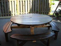 Free Octagon Picnic Table Plans by Really Nice Looking Octagon Table You Can Make Yourself Www