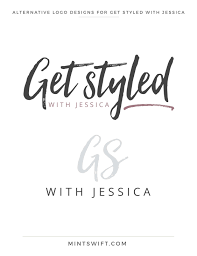 Letters Designs For - brand design for get styled with mintswift