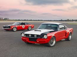 Mustang Red And Black 1969 Ford Mustange Boss 302 Trans Am Race Car And 1965 Ford