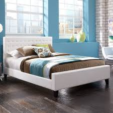 upholstered platform full size bed bedroom ideas