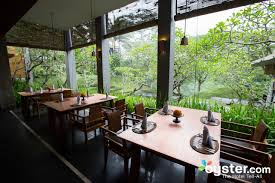 maya sari restaurant at the maya ubud resort u0026 spa oyster com