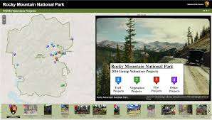 Rocky Mountain Map Groups Can Volunteer At Rocky Rocky Mountain National Park