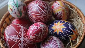 wax easter egg decorating easter eggs the living heritage of velingrad