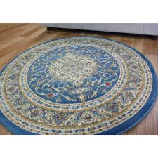 Round Wool Rugs Round Rugs Lt Blue 600 Classical Free Shipping Australia Wide