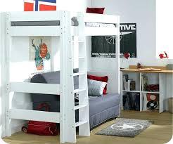 lit mezzanine 2 places avec canapé lit mezzanine avec banquette lit mezzanine avec banquette futon