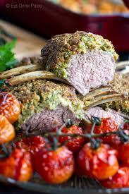 macadamia garlic u0026 parsley crusted rack of lamb
