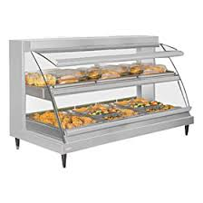 heated food display warmer cabinet case hatco grcd 3pd heated display cabinet three pan food