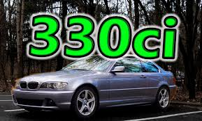 regular car reviews 2005 bmw 330ci youtube
