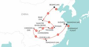 Wuhan China Map by China Tours Wendy Wu Tours