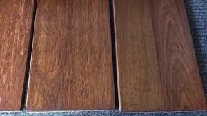 Dark Cherry Laminate Flooring Brazilian Cherry Floors Look Great Stained Dark Youtube