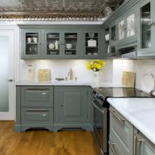 Grey Wood Floors Kitchen by Combinate Gray Kitchen Cabinets With Black Appliances Modern Grey