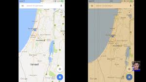 israel is back on google maps for iphone youtube