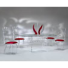 acrylic dining table simple in small home remodel ideas with